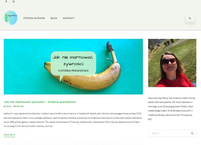 webpage Ekomigrantka
